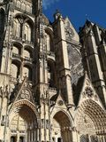 Cathedral of Bourges, France. royalty free stock photos
