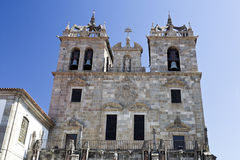 Cathedral of Braga Royalty Free Stock Photo