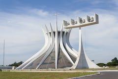 The Cathedral of Brasília. (Catedral Metropolitana Nossa Senhora Aparecida- Metropolitan Cathedral of Our Lady Aparecida Stock Image