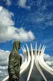 Cathedral of Brasilia, Brazil Royalty Free Stock Image