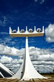 Cathedral of Brasilia, Brazil Stock Images