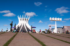 Cathedral of Brasilia Royalty Free Stock Photo