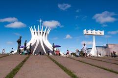 Cathedral of Brasilia Royalty Free Stock Photo