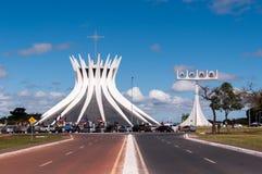 Cathedral of Brasilia Royalty Free Stock Image