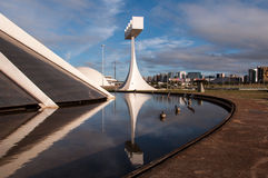 Cathedral of Brasilia Royalty Free Stock Photos