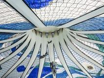 Cathedral of Brasilia Stock Photos