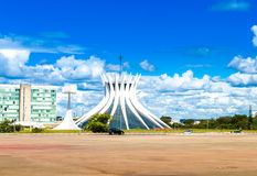 Cathedral of Brasilia, Brazil, South America Stock Photography