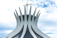 Cathedral of Brasilia, Brazil, South America Royalty Free Stock Image