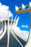 Cathedral of Brasilia, Brazil, South America Stock Photos