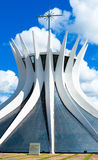 Cathedral of Brasilia, Brazil, South America Royalty Free Stock Photo