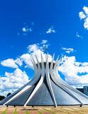 Cathedral of Brasilia, Brazil, South America Royalty Free Stock Images
