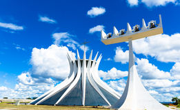 Cathedral of Brasilia, Brazil, South America Stock Image