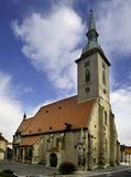 Cathedral in Bratislava Royalty Free Stock Photos