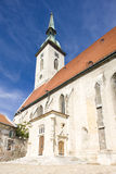 Cathedral in Bratislava Royalty Free Stock Image