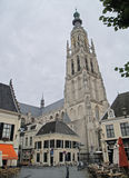 Cathedral of Breda. In the province of Brabant, Netherlands royalty free stock images