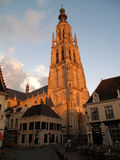 Cathedral of Breda. In the province of Brabant, Netherlands royalty free stock photography