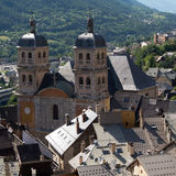 Cathedral in Briancon , France Royalty Free Stock Image