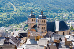 Cathedral in Briancon , France Royalty Free Stock Images