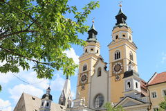 Cathedral of Brixen Stock Photos