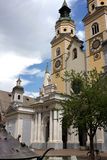Cathedral of Brixen,Bressanone - South Tyrol Royalty Free Stock Image