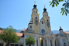 Cathedral Of Brixen / Bressanone Stock Photos