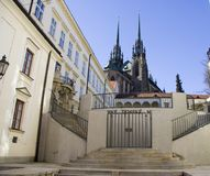 Cathedral in Brno Stock Image