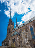 Cathedral Brno, Czech Republic Royalty Free Stock Images