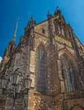 Cathedral Brno, Czech Republic Royalty Free Stock Photo