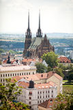 The Cathedral in Brno, Czech Republic. Stock Images