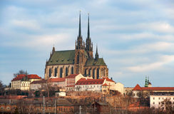 Cathedral in Brno, Czech Republik Royalty Free Stock Image