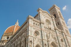 Cathedral of Brunelleschi in Florence Royalty Free Stock Image