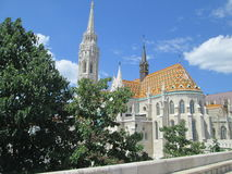 Cathedral in Budapest. Architecture ,build, history Royalty Free Stock Image