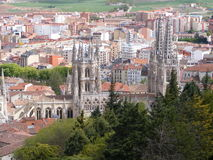 Cathedral of Burgos Royalty Free Stock Image