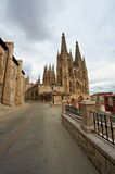Cathedral in Burgos Stock Photography
