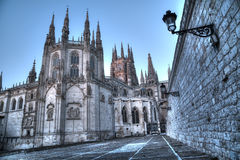Cathedral of Burgos Royalty Free Stock Images