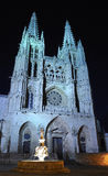 Cathedral of Burgos, Spain. Royalty Free Stock Photography