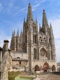 Cathedral, Burgos ( Spain ). View of the gothic Cathedral in Burgos, Spain Stock Photography