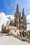 Cathedral in Burgos, Spain Stock Photos