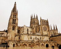 Cathedral of Burgos, Spain Royalty Free Stock Photos