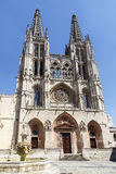 Cathedral in Burgos, Spain Royalty Free Stock Photos