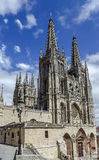 Cathedral in Burgos, Spain Stock Photography
