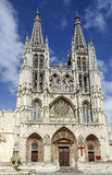 Cathedral in Burgos, Spain Royalty Free Stock Image