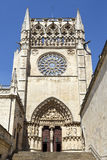 Cathedral in Burgos, Spain Royalty Free Stock Images