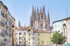Cathedral of burgos Royalty Free Stock Photography
