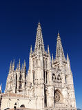 Cathedral of Burgos Stock Photo