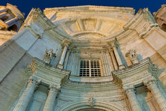 Cathedral of Cadiz Royalty Free Stock Photos