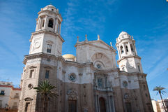 Cathedral of Cadiz Stock Image