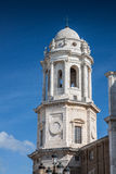 Cathedral of Cadiz Stock Images