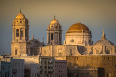 Cathedral of Cadiz, Andalucia, Spain. Royalty Free Stock Photos