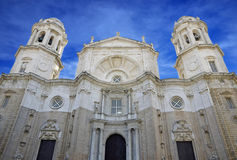 Cathedral of Cadiz, Andalusia Royalty Free Stock Image
